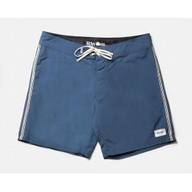 Boardshorts RHYTHM Heritage Trunk Mineral Blue