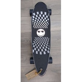 """Skate Cruiser Beercan Pin Tail 30""""Silver"""