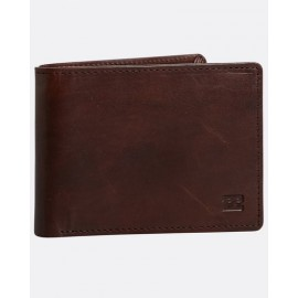 BILLABONG Vacant Leather Chocolate Wallet