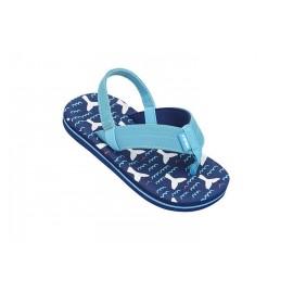 Tong Cool Shoe Enfant Whales Blue