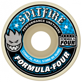 Spitfire Wheels Formula Four Conical Full 53mm 99A