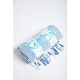 Fouta Beach Towel BANANA MOON Aissia Marbella blue
