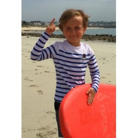 Lycra Surf Pistols Boy's Mariniere Long Sleeve