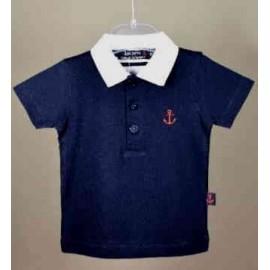 Children's polo shirt PAPYLOU Binic Marine