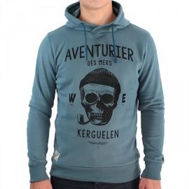 Hooded Sweatshirt Stered Adventurer Of The Seas Petrol