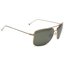 Mundaka Stack Polarisé Matte Gold Polarized Sunglasse