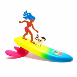Surfer Dudes Surf City Sally