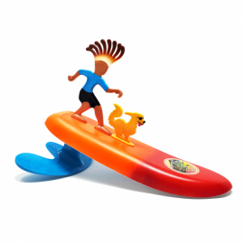 Surfer Dudes Waikiki Woodie