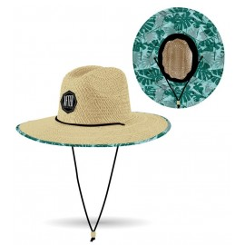 Chapeau After Straw Hat Big Leaves