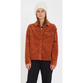 Volcom Sha LaLa Shacket Women's Jacket Moka