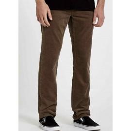 Volcom Vorta 5 Pocket Cord Mushroom Men's Velvet Trousers