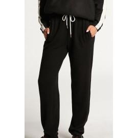VOLCOM Women's Fleece Pants Lil Black