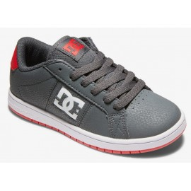 DC Junior Stricker Grey Red Shoes