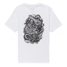 Junior Element Timber Acceptance Optic White Tee Shirt