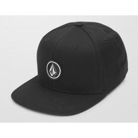 Junior Volcom Quarter Twill Black Cap