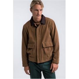 RHYTHM R 29 Gold Sherpa Lined Jacket