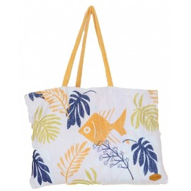 All-In Sunfish Melon Beach Bag