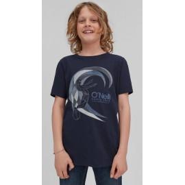 O'NEILL Circle Surfer Ink Blue Junior Tee