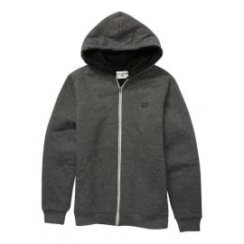 Junior Billabong All Day Black Sherpa Lined Sweatshirt