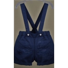 Baby playsuit PAPYLOU Monte Carlo Navy