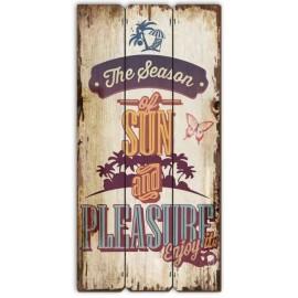 Tableau En Bois Pleasure