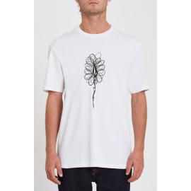 Tee Shirt Volcom Issam Hand White