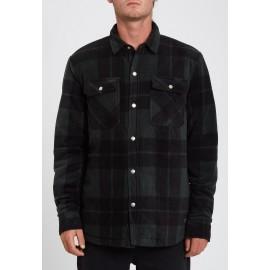 Volcom Bowered Scarab Fleece Overshirt