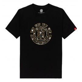 Tee Shirt Junior Element Cookie Galaxy Flint Black
