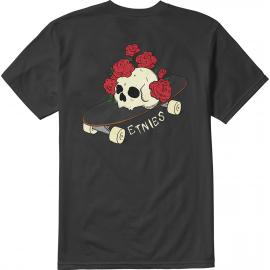 Tee Shirt Etnies Rose Roll Black