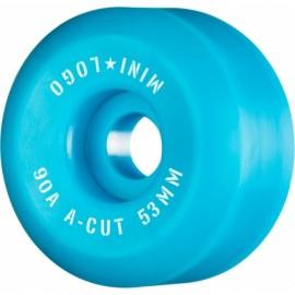 Mini Logo Wheels A Cut 53mm 90A Blue