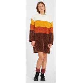 Volcom Bubble Tea Brown Dress