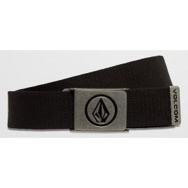 Volcom Circle Web Black Belt