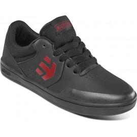 Chaussures Etnies Marana Kids Black Red Black