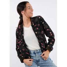 BANANA MOON Bello Floralis Jacket Black
