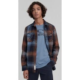 Men's Flannel Shirt O'NEILL Check Shirt Agave Green
