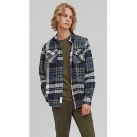 Men's Flannel Shirt O'NEILL Check Shirt Ink Blue