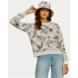 BILLABONG Sun Shrunk Multi Women's Crew Sweatshirt