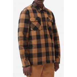 Dickies Sacramento Brown Duck Sherpa Lined Shirt