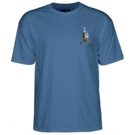 Tee Shirt Powell Peralta Skull & Sword Slate Blue