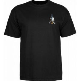 Tee Shirt Powell Peralta Skull & Sword Black