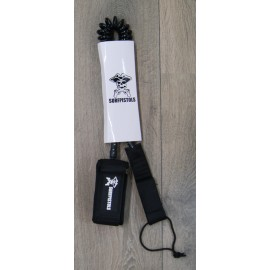 Leash SUP Coil Surfpistols 8'Black