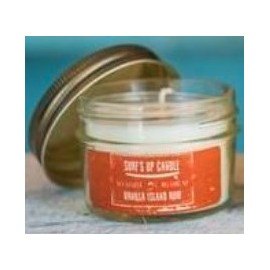 Candle MASON Jar Vanilla Island Rum110gr