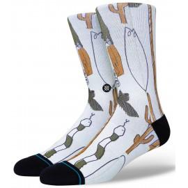 Socks STANCE Ded Man Off White