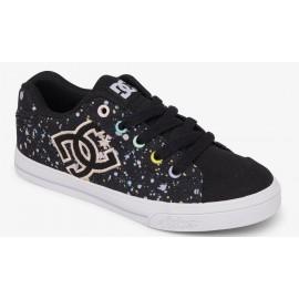 Chaussures DC Junior Chelsea Black Splatter