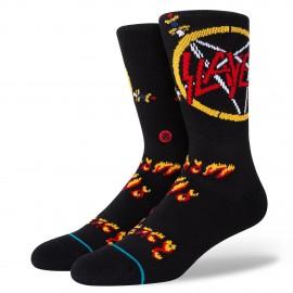 STANCE No Mercy Crew Black Socks