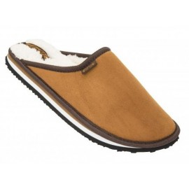 COOL SHOE HOME Brown Men's Slippers