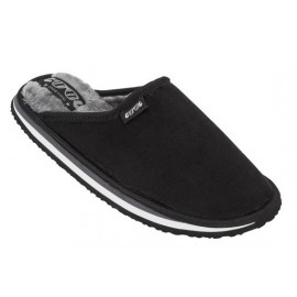 COOL SHOE HOME Black Slippers