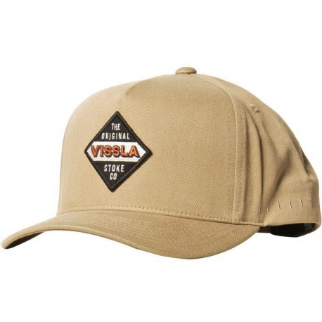 Vissla Sevens Khaki Cap