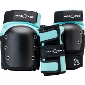 Pro Tec Pads Street Gear Junior Medium 3 Pack Sky Brown