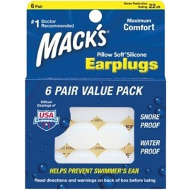 Bouchons d'Oreille Mack's Silicone